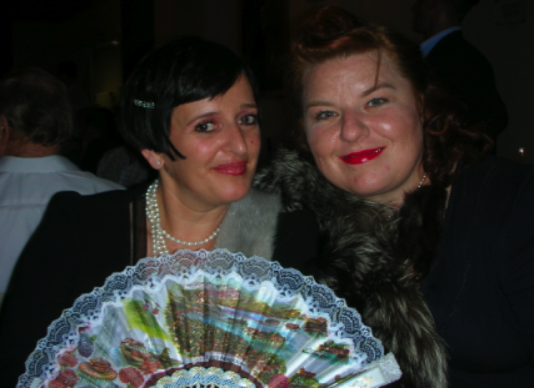 Die Macherinnen der Chocolaterie Bitter & Zart – Frau Bitter & Frau Zart