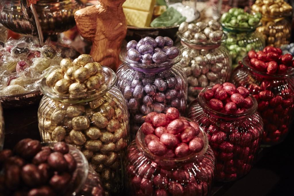Schokoladeneier von Galler