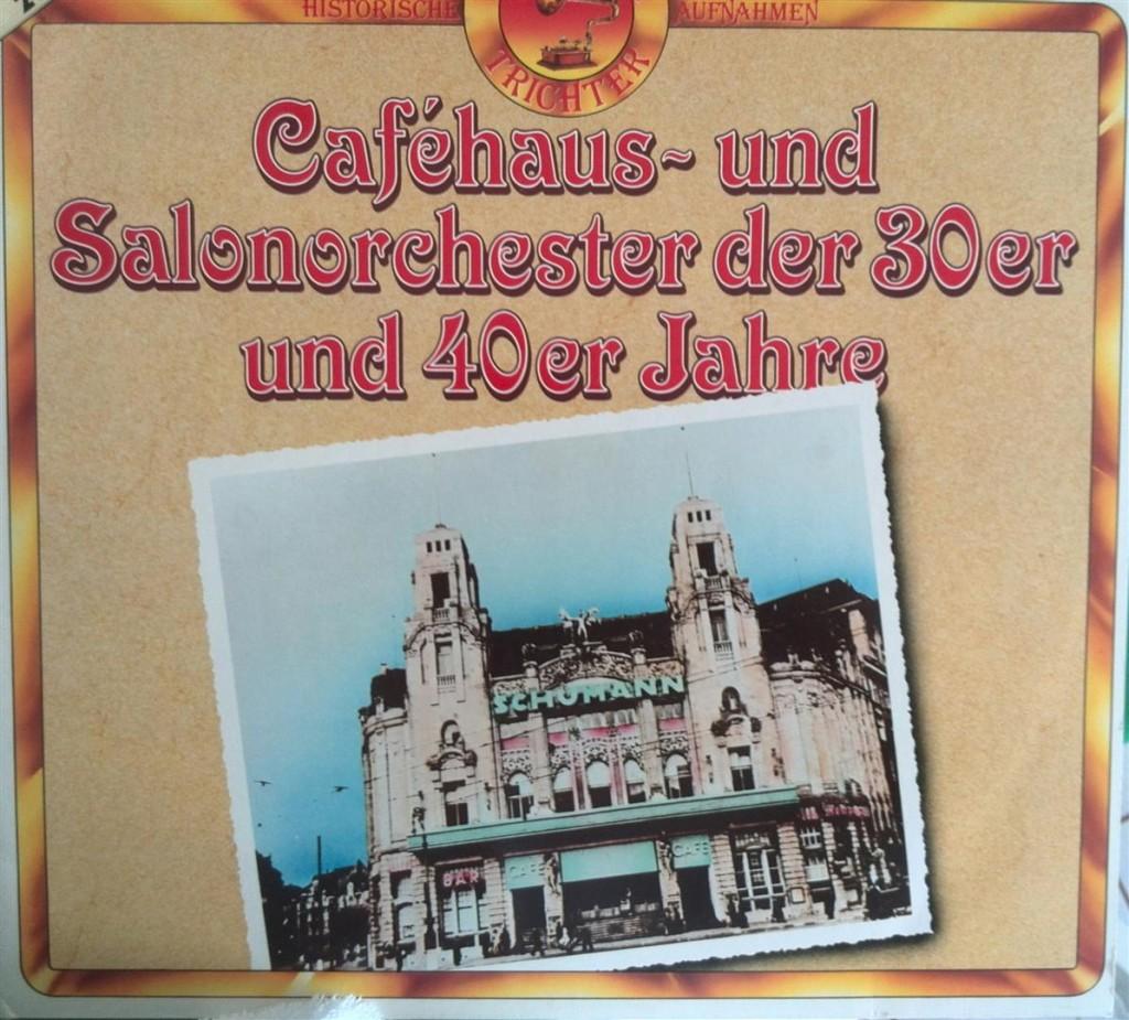 Tanzmusik 30er Cover (Groß)
