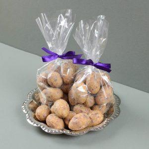 Himbeer-Krokant-Eier